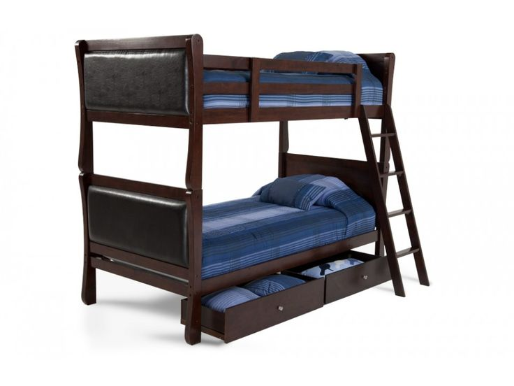 Providence Youth Bunk Bed With Storage Drawers | Bobu0027s Discount Furniture