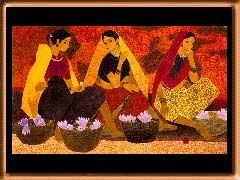 a N.S. Bendre painting