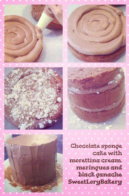 Sweet Lory chocolate cake