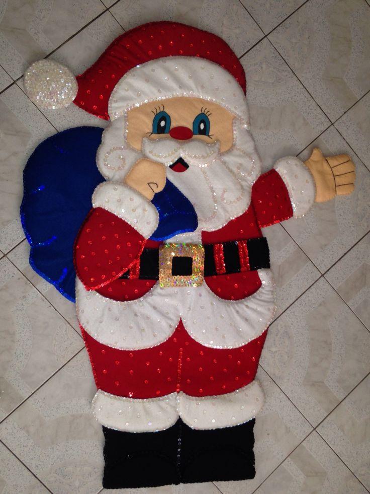 Santa Claus Grande De Fieltro