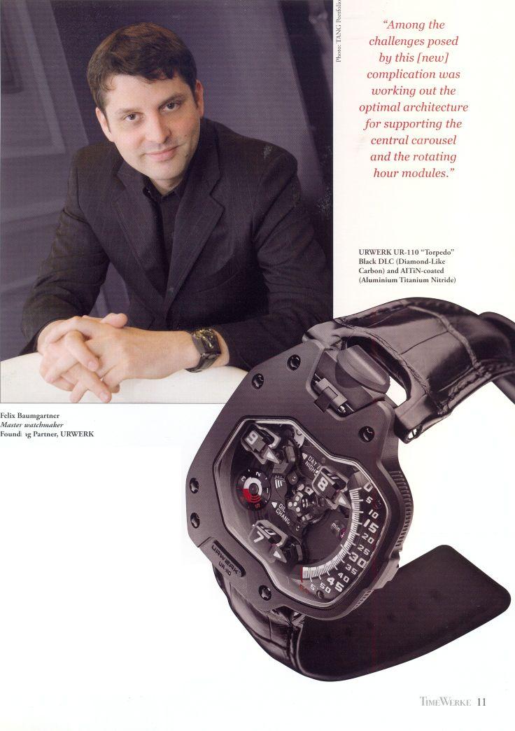 TimeWerke The Urwerk Edition