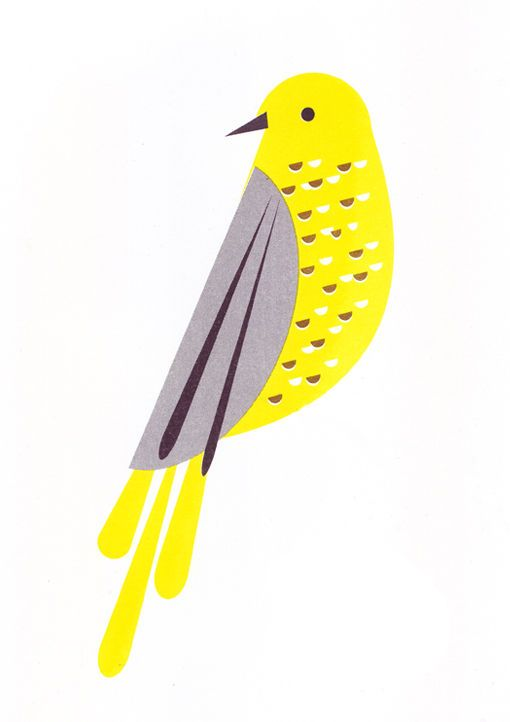 Songbird Print by Scout Editions