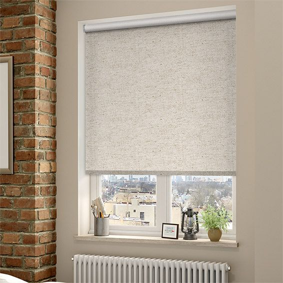 choices linen natural roller blind