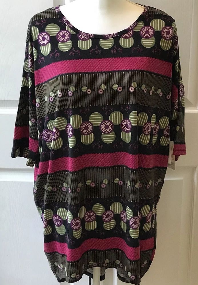 Women's Clothing Clothing, Shoes & Accessories New Lularoe Irma Shirt L