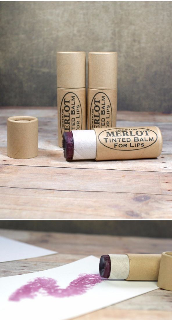 Merlot Tinted Lip Balm Recipe