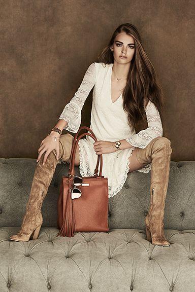 Spring 2017 Campaign Structured handbag Model: Aryel @ Folio Montréal