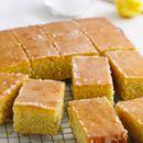 Lemon Drizzle Traybake recipes - #PinthePerfect #MaryBerry