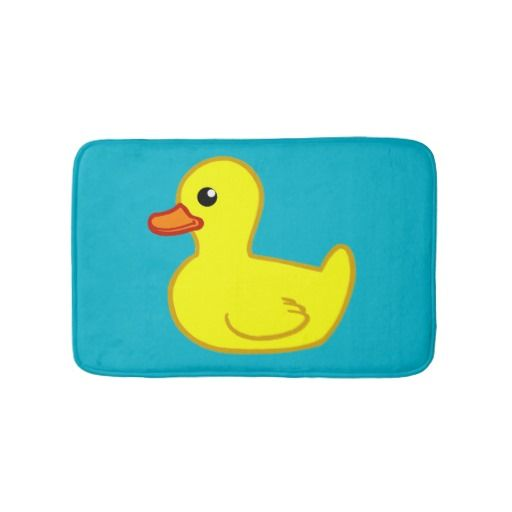 Rubber Ducky BATH MAT by spikes_studio on Zazzle @zazzle #zazzle #bath #mat #bathroom #bed #bathe #home #decor #homedecor #fun #shop #shopping #blog #blogging #look #buy #sale #women #men #fashion #style #decorate #nice #cool #sweet #awesome #awesomeness #ducky #rubber #yellow #bird #child #children