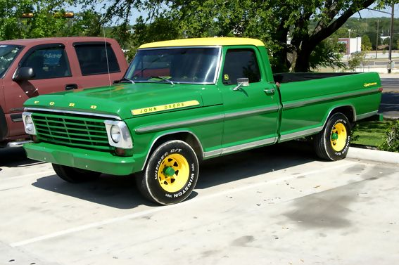 John Deere Pickup Truck | want to paint my truck john deere green - Ford Truck Enthusiasts ...