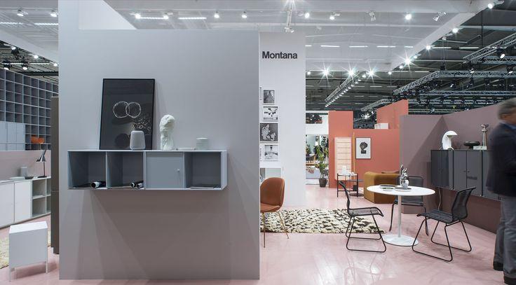 Stockholm Furniture Fair. #montana #furniture #danish #design #2016sff #2016sdw #shelving #colours #home #decor
