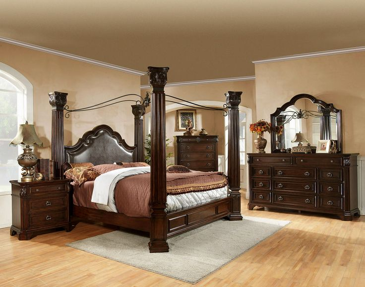 King Canopy Bedroom Sets - http://behomedesign.xyz/king-canopy-bedroom-sets/
