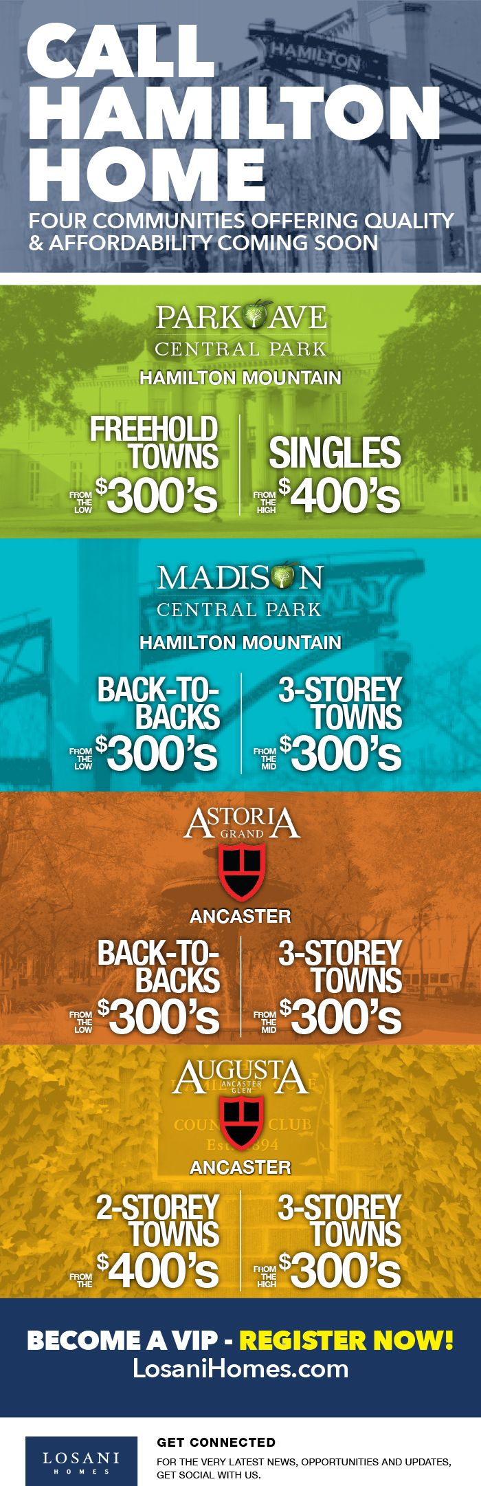 Call Hamilton Home! Register Now for New Communities by Losani Homes! Click here for more...http://conta.cc/2dHgJY4