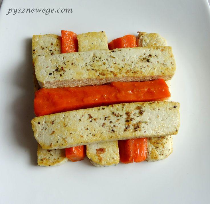 Tofu z marchewką
