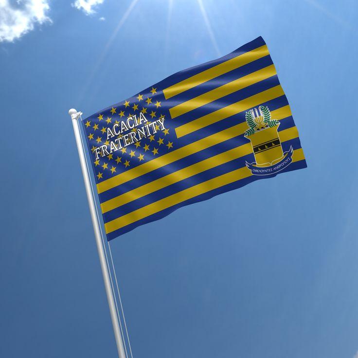 Acacia Fraternity Flag US Style