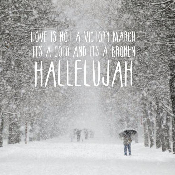 Hallelujah -Jeff Buckley