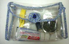 Como costurar um necessaire em plástico