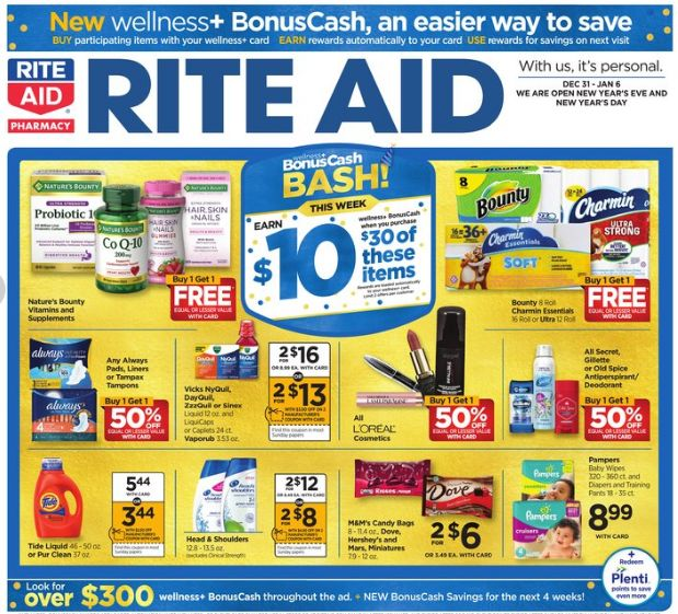 Rite Aid Weekly Ad Dec 31, 2017-Jan 06, 2018   https://www.weeklyadspecials.com/rite-aid-weekly-ad-dec-31-2017-jan-06-2018/