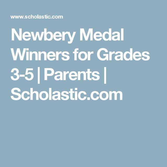 Newbery Medal Winners for Grades 3-5   Parents   Scholastic.com