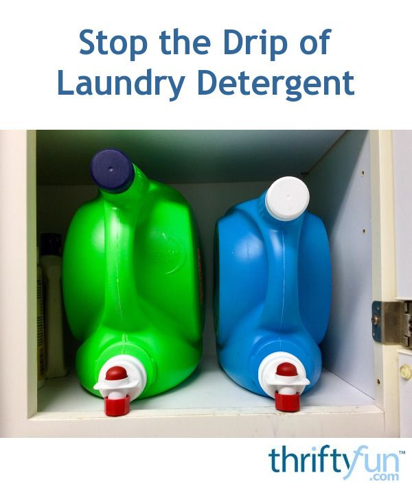 Stop The Drip Of Laundry Detergent In 2020 Laundry Detergent