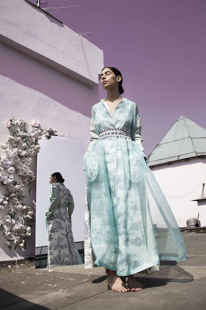 Asiya Bareeva maxi dress
