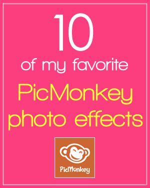 10 fun PicMonkey photo effects!  http://corbettcapers.com/2012/10/10-favorite-picmonkey-photo-effects.html