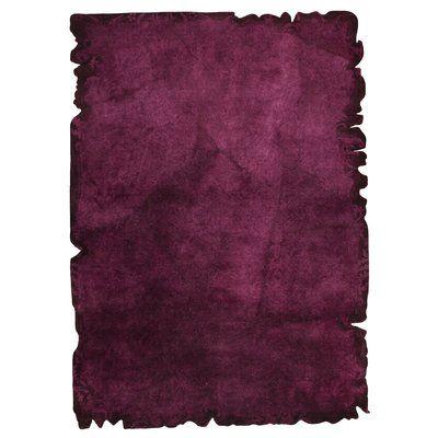"Hokku Designs Jalwa 2 Hand-Tufted Purple Area Rug Rug Size: 7'10"" x 9'10"""