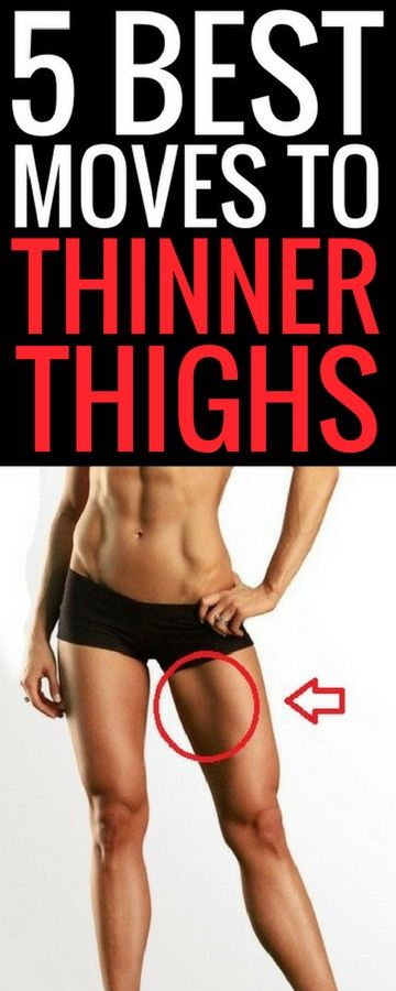 5 best exercises for thinner thighs.