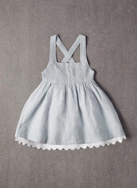 Nellystella Rae Dress in Frosty Breeze - PRE-ORDER