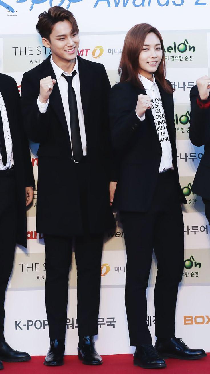Mingyu and Jeonghan