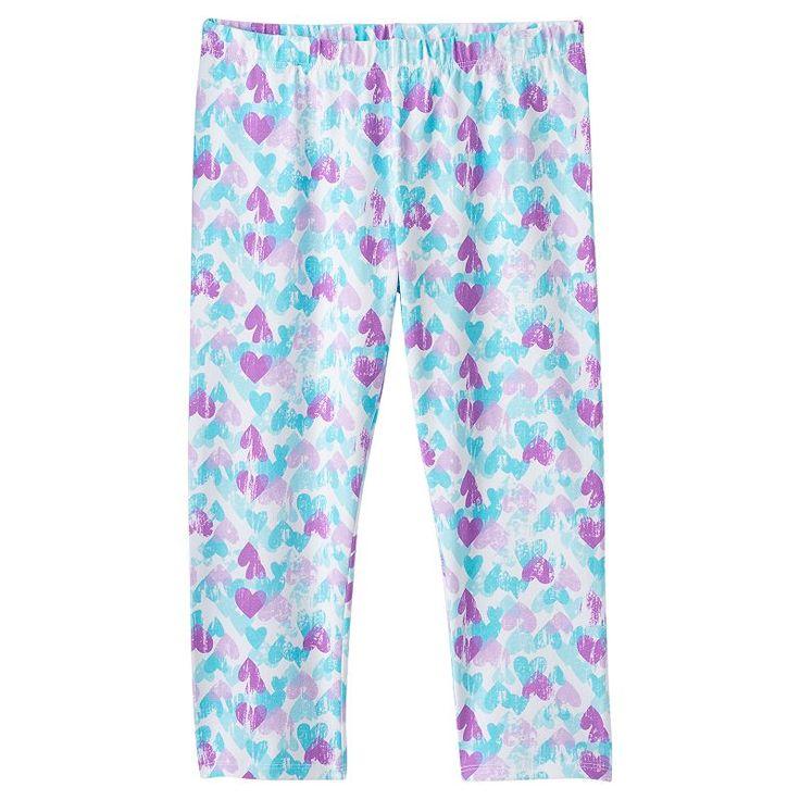 Girls 7-16 & Plus Size SO® Capri Leggings, Girl's, Size: