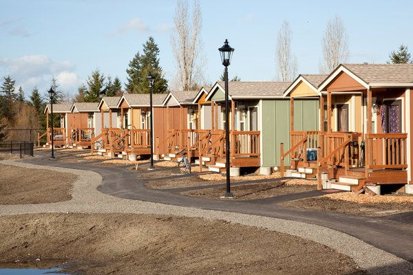 2.1-acre Quixote Village may become a template for homeless housing projects across the country with 29 tiny houses