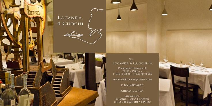 Locanda 4 Cuochi - Verona (Italy)