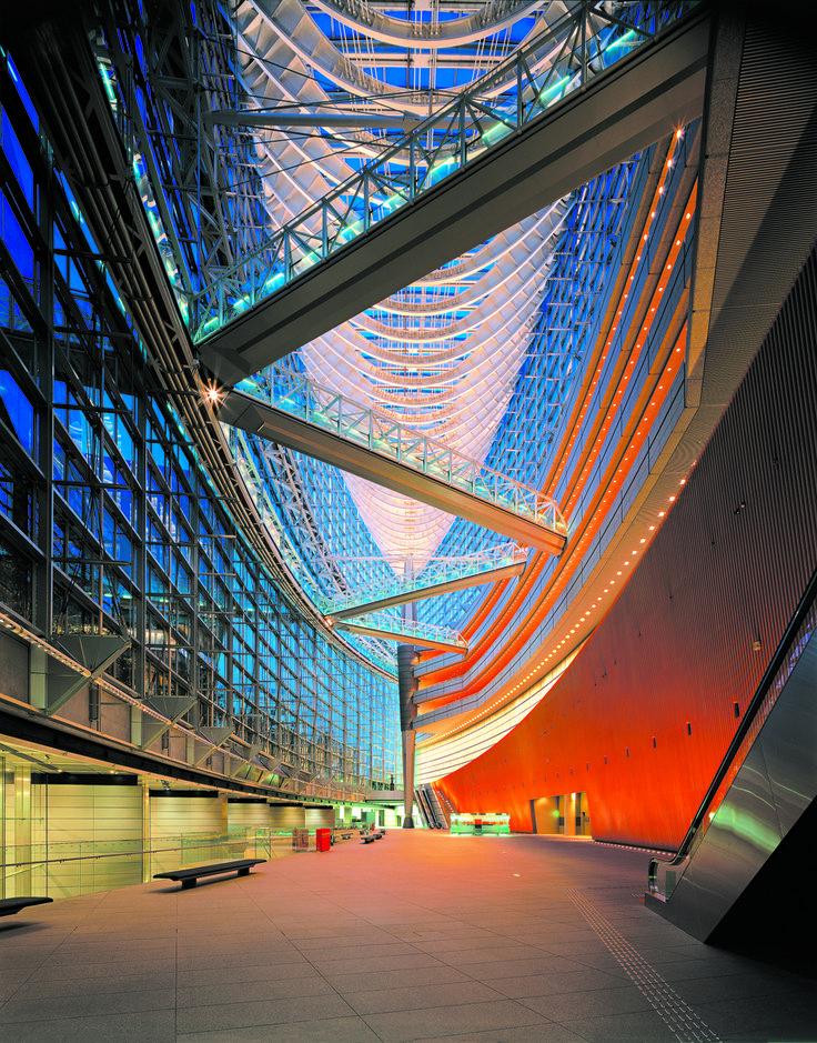 Tokyo International Forum | Rafael Viñoly Architects | Glass Hall