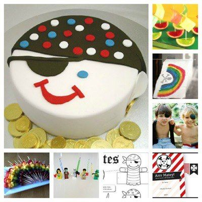 Pirate Party Theme - Including recipes, decorations and FREE printables.