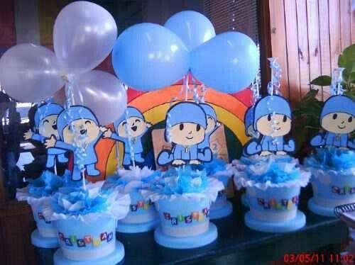 Pocoyo | mesas decoradas y cumpleaños | Pinterest
