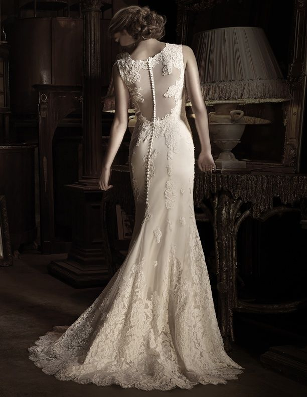 99 best wedding dresses backs images on pinterest for Wedding dress shops in denver