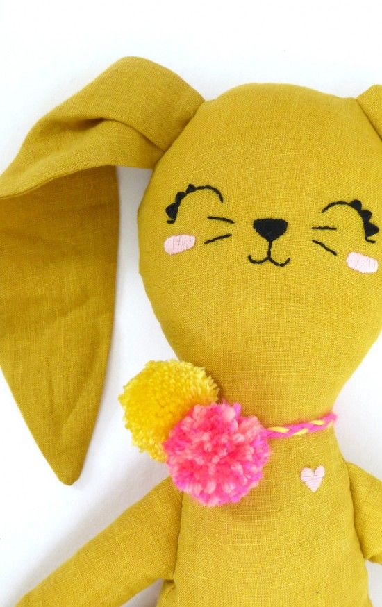 Mini Boheme handmade eco-friendly organic linen dolls and pillows. What an…