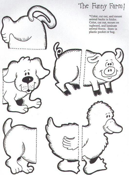 The funny farm file folder game 3/6