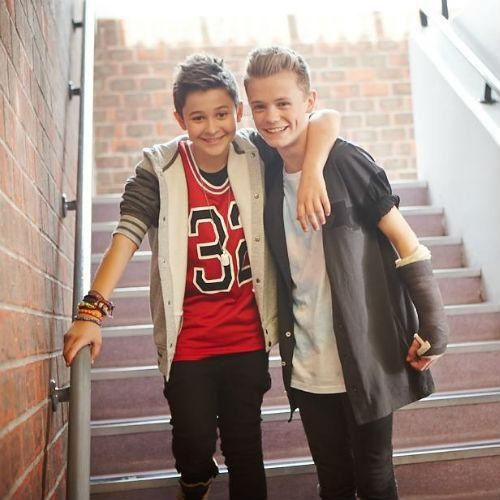 Leondre and Charlie i can go to their concert :)  but i cant meet them those tickets where sold out :`(