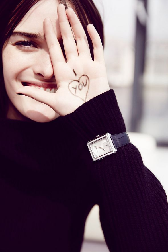 Chanel Boyfriend Watch Lookbook - Sam Rollinson, Accessories