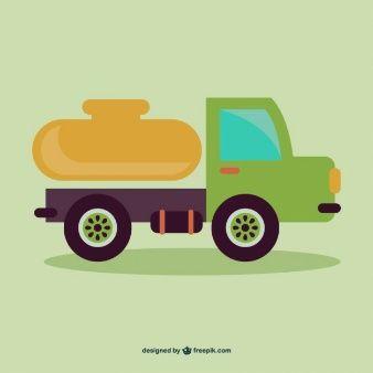 Vector dibujo de camión