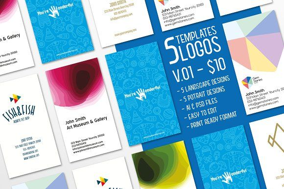 10 dollars for 5 templates 02 by ihsankl on @creativemarket