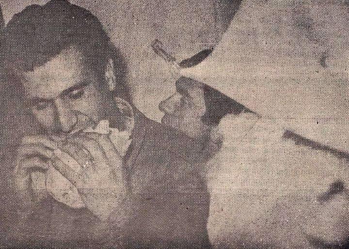 Deniz Gezmiş gözaltındayken çekilmiş bir fotoğraf (1968) #istanlook