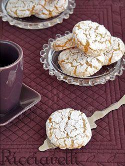 Ricciarelli - Délicieux biscuits Italiens aux amandes - | Alter Gusto - Recettes de cuisine