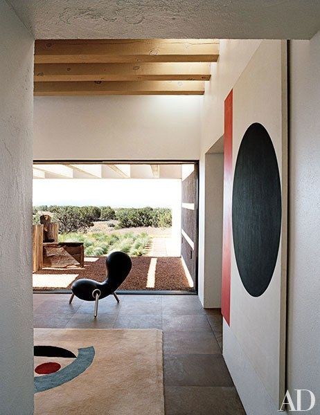 Awesome Ample Windows And Skylights Bring Natural Deep Into The Interior  Ofu With New Mexico Interior Design Ideas