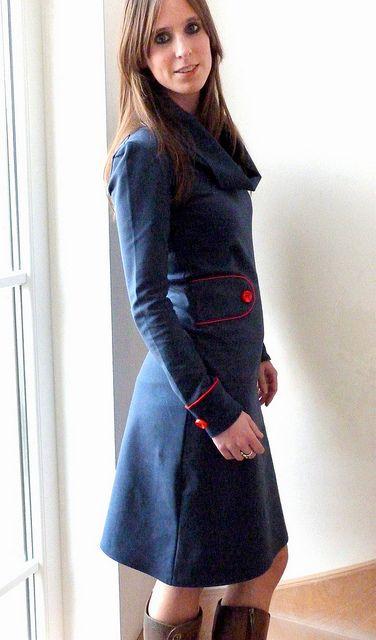 verliefd op een jurk ...Ienemiene retro dress