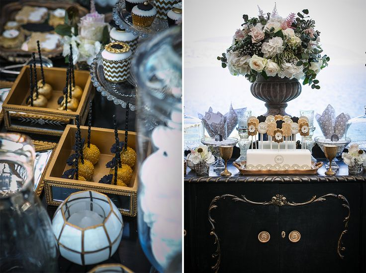 Elegant Vintage Wedding Dessert Table Planned by DeplanV