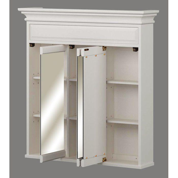 "Sanibel 36"" x 37.5"" Surface Mount Medicine Cabinet"