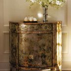 Hand-Painted Antiqued Cabinet - Traditional - Storage Cabinets - by Inviting Home Inc