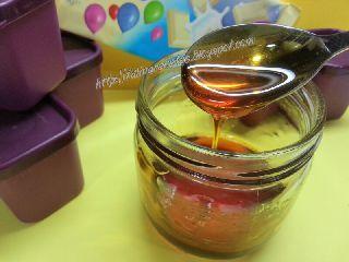Caramelo en microondas